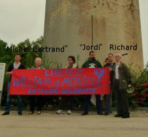 Le comité de soutien aux ratonneurs d'Aigues-Mortes, William Vidal et Monique Guindon