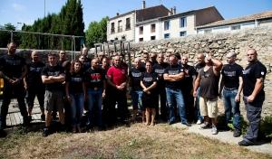 """Deux tonnes de stéroïdes pour le prix d'une! La section """"sud"""" (comprendre: Sète, Gard, Hérault et quelques autres, plus des parisiens descendus) en août 2012"""