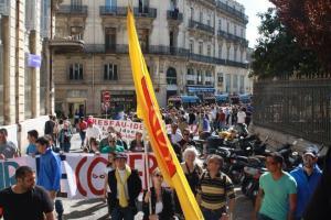 """L'intégralité de la """"manifestation régionale"""". Après enquète il s'avère que la plupart des passants ne l'ont même pas remarqué..."""